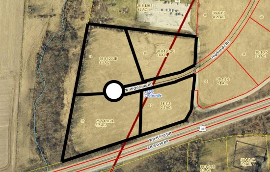 HIghlands Blvd Lot 36 - 39
